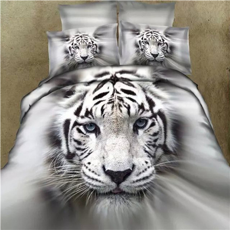 White Tiger Bedding