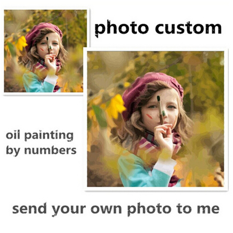 Photo Custom Make Your Own Digital Canvas Oil Painting