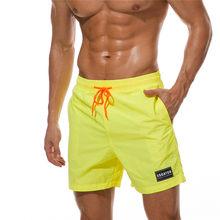 Quick Dry Swimwear Men Summer Board Shorts Surf Swimming Beach Short Athletic Swimsuit Running Gym Shorts Maillot De Bain Homme(China)