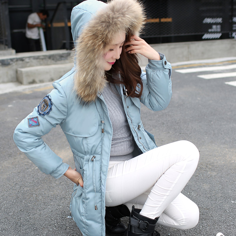 Winter Jacket Women Big Size Cotton Jacket Women's Clothing Fur Collar Hoodies Quilted Jackets For Women Casual Parka Coat C1396(China (Mainland))