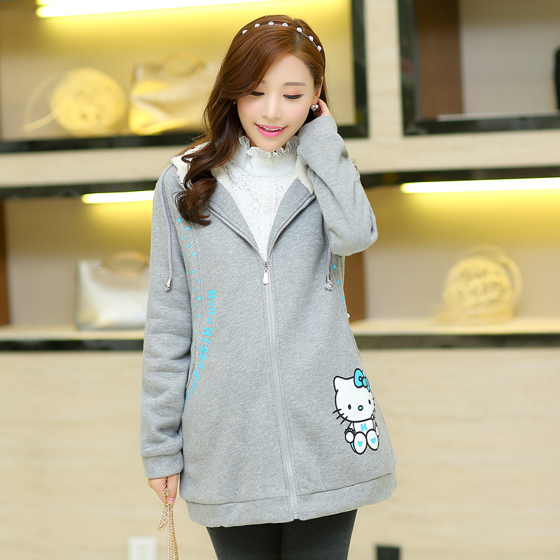 free shipping maternity pregnant women dress hooded maternity dress A - 8292