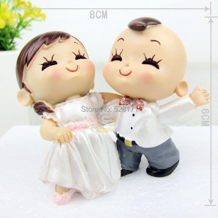 2014 Wedding Decoration house Accessory Tango dancing couple figurine wedding cake toppers wedding favors Free shippping(China (Mainland))