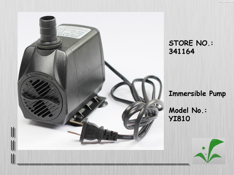 , 70W, 3m hight lift immersible water pump, fountain/water cooler/aquarium/gardening rockery used submersible pump - Green Grass of Home store