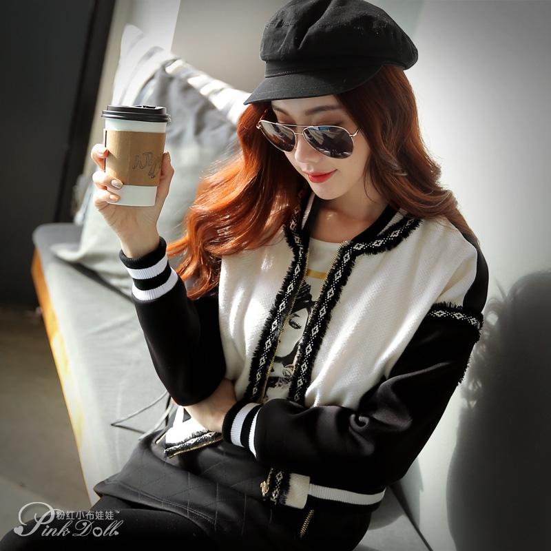 Original 2016 Brand Autumn and Winter Coat Korean Slim Fashion Women Short Jacket Female WholesaleÎäåæäà è àêñåññóàðû<br><br>