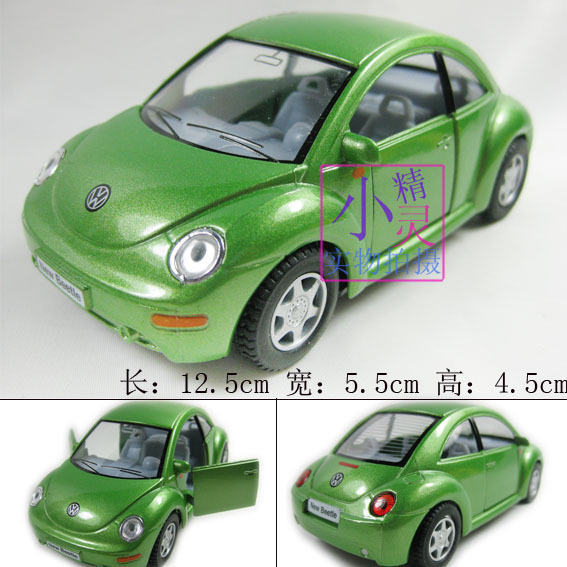 Vw beetle alloy car model WARRIOR car toy soft world kt1 : 32 more pcs more discount free ship dropshipping