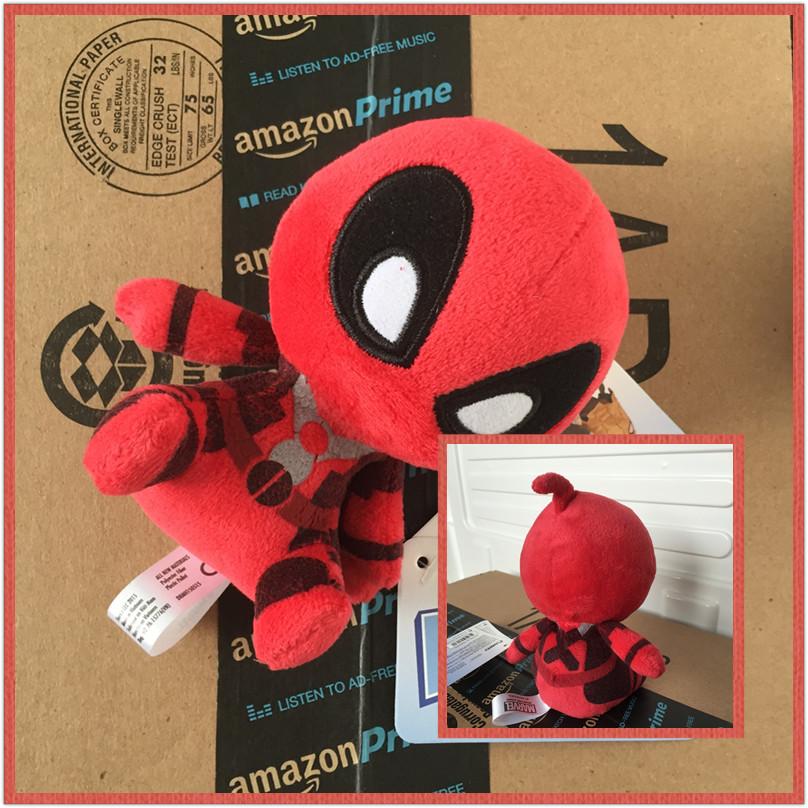 Marvel Movie Deadpool 2016 Soft FUNKO POP Deadpool Spiderman Plush Doll Toy Figure 20CM(China (Mainland))