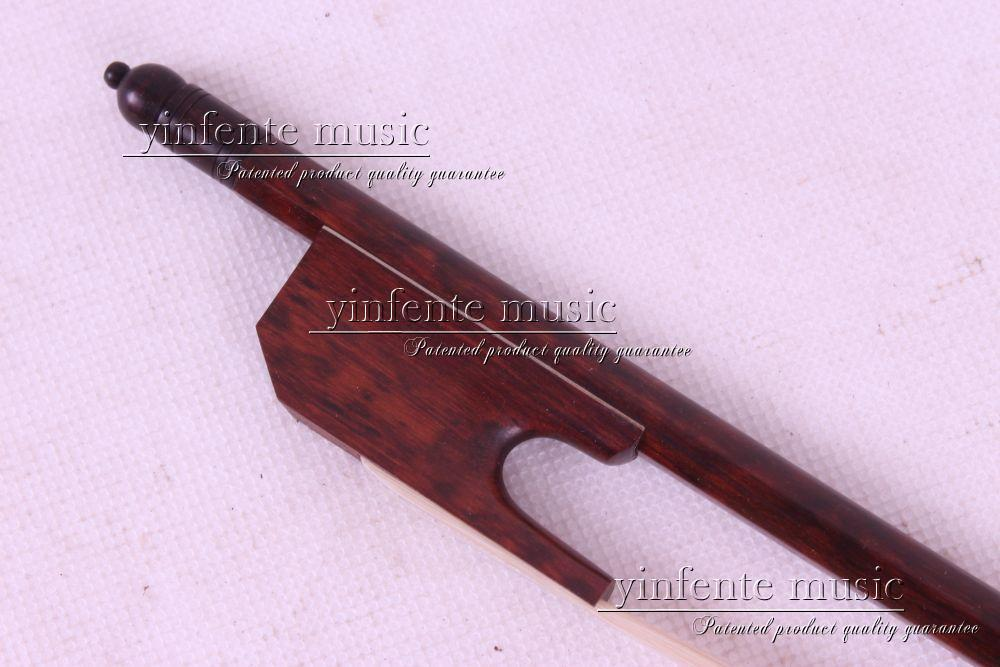 snakewood 1 pcs 4/4 Violin Bow Baroque white  horsetail Straight #8++<br><br>Aliexpress