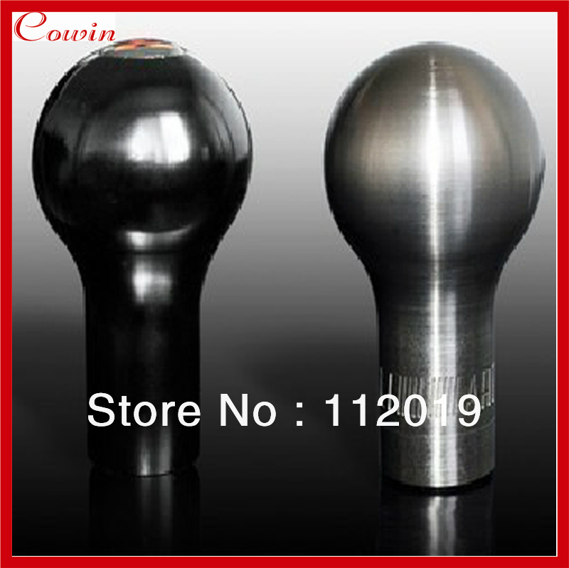 Free shipping for ralliart aluminium speed gear shift knob manual gear shifter simple super cool