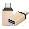 2016 New Metal USB 3 0 Type C OTG Adapter For Macbook For ChromeBook Mi4C Meizu
