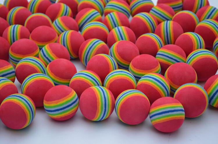Brand New for practice golf training sports soft foam golf balls Golf Balls(10pcs/lot) golf bolas Free Shipping(China (Mainland))
