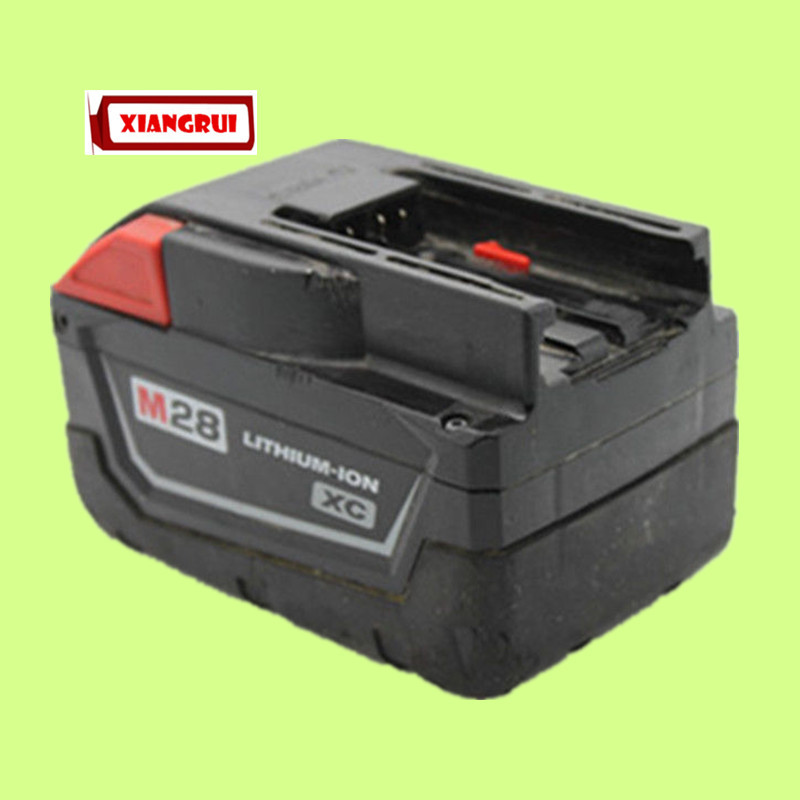 Free Shipping Hot Sale!!! For Milwaukee M28 Lithium-Ion 28 Volt 28V 3.0Ah Original Power Tool Battery Used(China (Mainland))