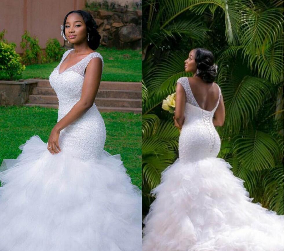 Aliexpress.com : Buy Arabic Style Plus Size Wedding Dress