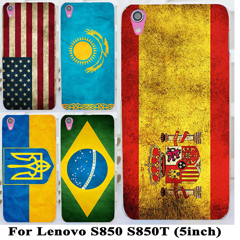 2015 New Arrival Plastic Dirt-resistant Ukrain Usa Uk National Flag Cover Case For Lenovo S850 S850t Skin Shell(China (Mainland))