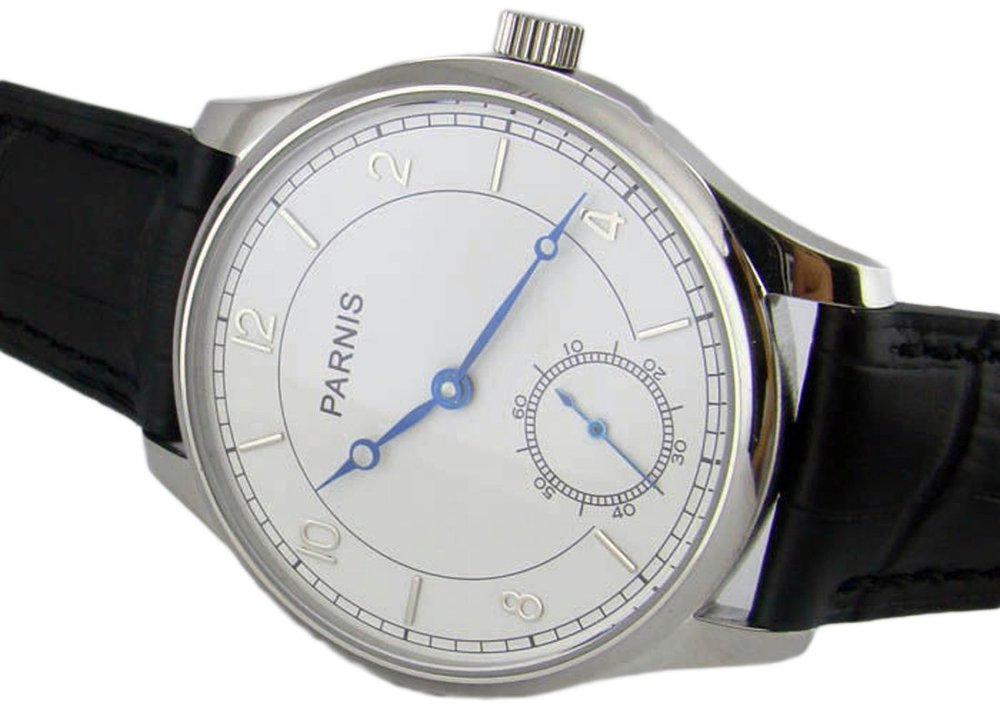Parnis Special@6 Hand Winding 44mm Mens Watch P042617 - parnis store