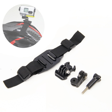 4in1 1set Helmet Strap Mount Kit for Quick Release Buckle/ Helmet strap / Screw Sony Action Cam HDR-AS15/AS20/AS30V/AS100V Gift