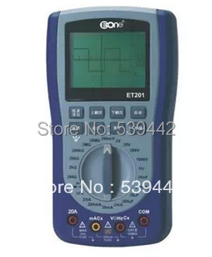 EONE ET201 cheapest oscilloscope good quality, lcd disolay,handheld 200ksps - Hong Lin's Store store