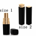 New Fashion woman Luxury cc makeup Lipstick Power Bank 3000mAh High Quality External Powerbank portable battery