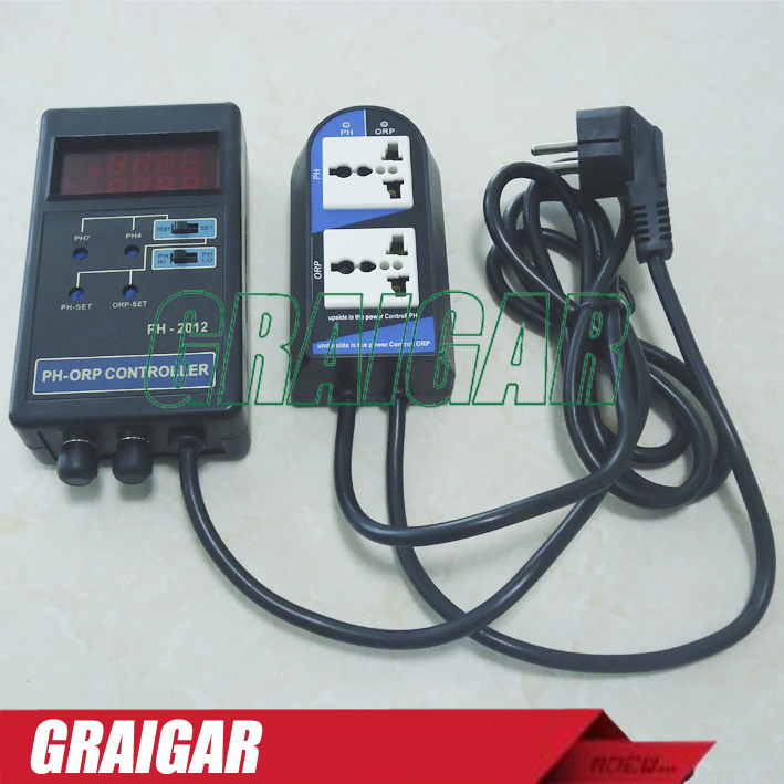PH-2012 Digital PH and ORP Controller, ph meter, ph tester Free shipping