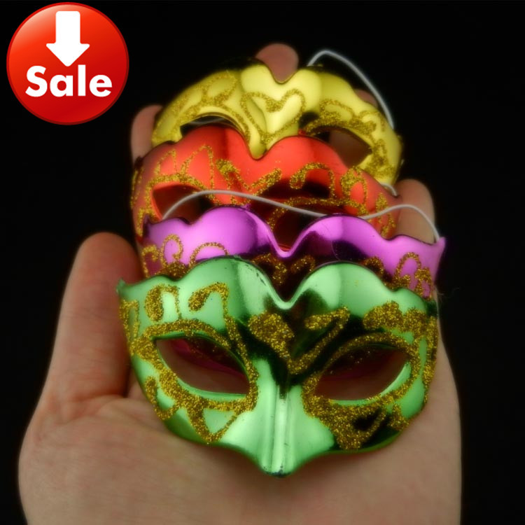 30Cute Mini Masquerade Masks Christmas Venetian Party Disfraces Carnaval Halloween Cosplay Mask - Caly Tao's store