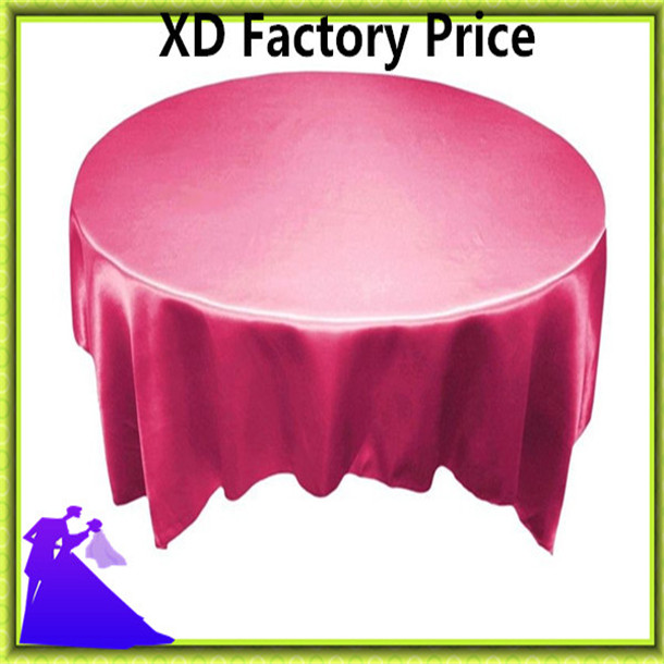 Colorful banquet satin table overlay standard for sale free shipping(China (Mainland))