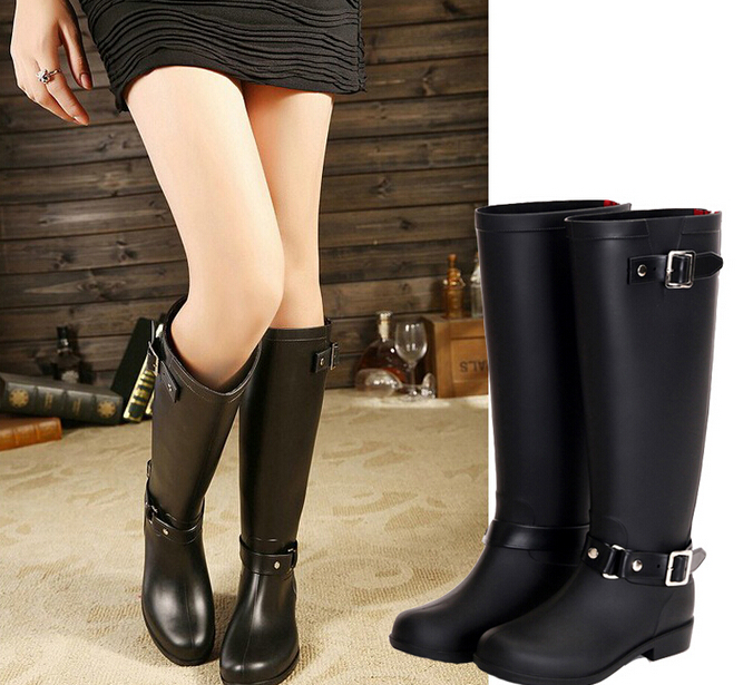 shoes rain boots Picture - More Detailed Picture about 2015 New ...