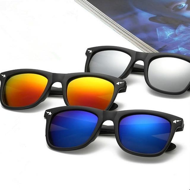 Новинка марка очки с мужчины проезда спортивная акула солнцезащитные очки цветные ...