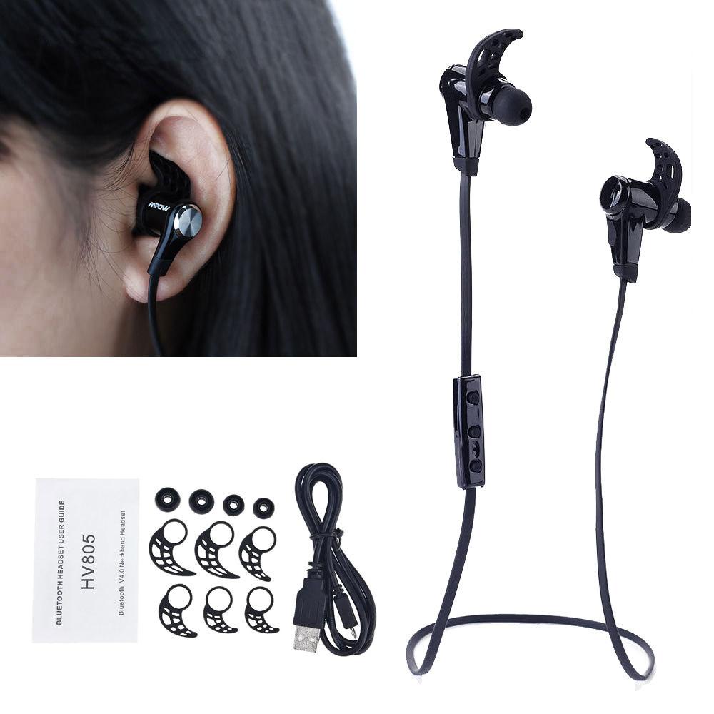 Newest Wireless Stylish Brand Music Earphone For iPhone Android Bluetooth 4.0 Wireless Stereo Running Sport Headset Headphone(China (Mainland))