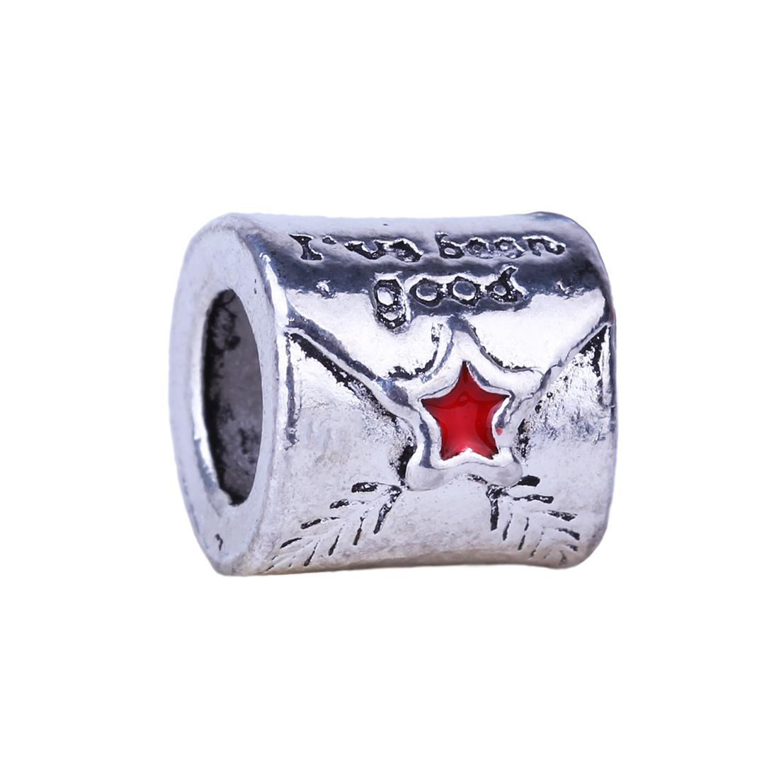 1Piece Mail Envelope European Charms Silver Beads Alloy Bead Fit Pandora BIAGI Bracelets Bangles(China (Mainland))