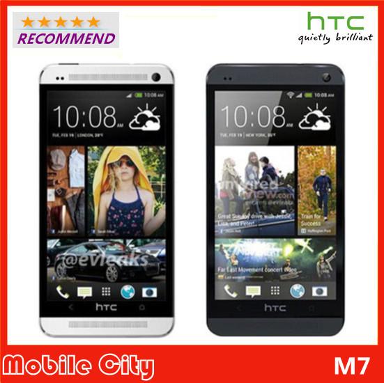 Refurbished Unlocked M7 Original HTC ONE Cell Phone Wifi GPS 4.7'' 2GB RAM 32GB Storage 1.7GHz Android Smart Phone Free Shipping(China (Mainland))