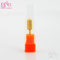 Nail Art Salon 1pc Golden Steel Carbide Material Manicure Pedicure Granding Nail Drill Bits Nail Art