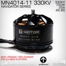 T-MOTOR MN4014 330KV antigravity! 2pcs/set heavy duty brushless motor for DJI S800 PLATFORM