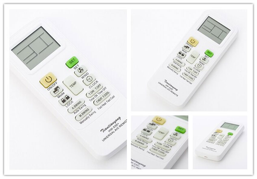NEW Universal A / C Air Conditioner Remote Control Controller HW-530+(China (Mainland))