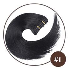 Дорин 100% Красочные человеческие волосы пучки волос бразильские прямые волосы Реми #1 # 1B #2 #4 #27 #613 пучки светлых волос, 20, 22, 24, 26(China)