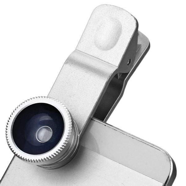 Free Shipping/silver color Aluminum Alloy Design Universal 3 in 1 Camera Phone Lens Kit For iPhone/For SUMSANG/For iPad Tablet(China (Mainland))