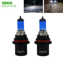 Buy XENCN 9004 HB1 12V 65/45W 5300K Blue Diamond Light Car Bulbs Headlight Xenon Look Super White Halogen Lamp Free 2pcs for $26.89 in AliExpress store