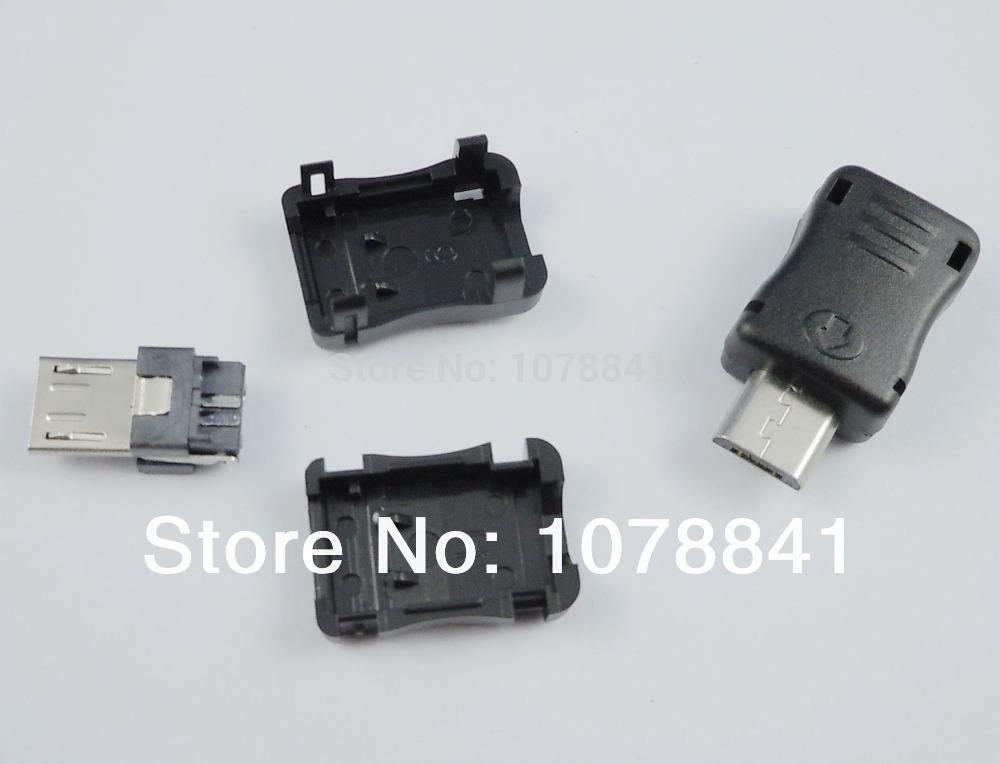 20 Pcs Per Lot New Micro USB B Male 5 Pin Socket Connector DIY<br><br>Aliexpress