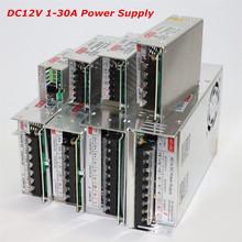 1Pcs AC / DC 12V 1A 2A 3A 5A 10A 15A 20A 30A Power Supply Adapter Light Transformer for 5050 5630 3528 3014 SMD LED Strip Light(China (Mainland))