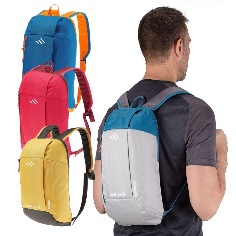 9 Colors 10L Waterproof Polyester Mini Teenager School Bag Hiking Backpack Outdoor Bicycle Cycling Travel Mountaineering Bag(China (Mainland))