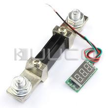 Digital Meter DC 0~300A Red LED Display Ammeter Ampere Panel Meter DC 12V/24V Current Test Meter + Resistive Shunt(China (Mainland))