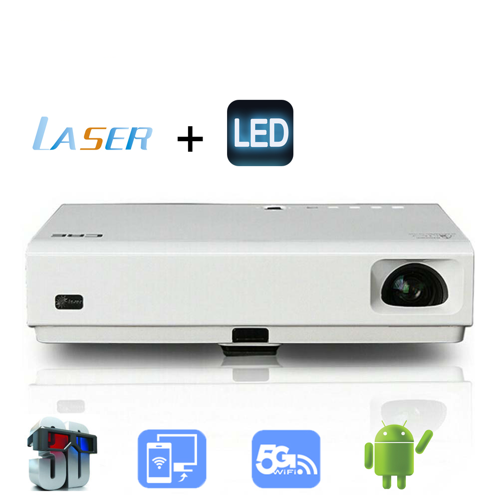 Android Projectors 3D DLP 1080P Full HD LED Beamer Home Entertainment Mini Video Projector 1080p Laser Pico Projector HDMI USB(China (Mainland))
