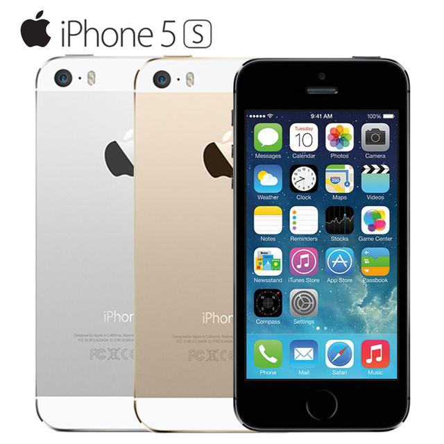 Оригинальный Apple iPhone 5s Разблокирована IOS Мобильный телефон 4.0 МП ''8 16 Г/32 Г/64 Г Dual-core GPS Используется телефон