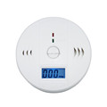 Home Safety CO Carbon Monoxide Detectors Smoke Gas Sensor Alarm Detector with LCD display