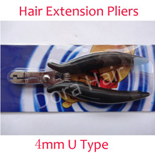 wholesale High-grade mini 4mm plier U-shaped tip for hair extensions Hair extension tools hair extension pliers(China (Mainland))
