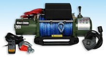2015 hot-seller series wound synthetic rope 12000LBS (5443KGS) single line Auto electric winches(China (Mainland))