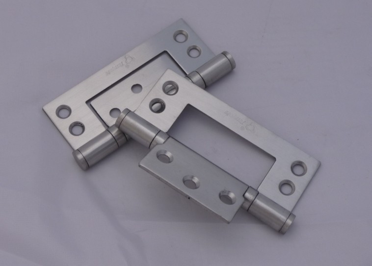 China's top ten lock king stainless steel metal window type 2543 2.5 bedroom within the thick wooden door hinge Free slotted Pic(China (Mainland))