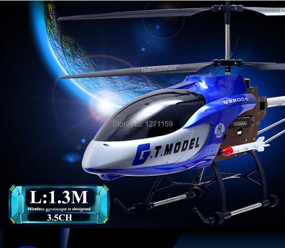 3.5CH Remote control aircraft RC Helicopter 1.3M Large scale model aircraft Children's toys HM novice Primary Aircraft(China (Mainland))