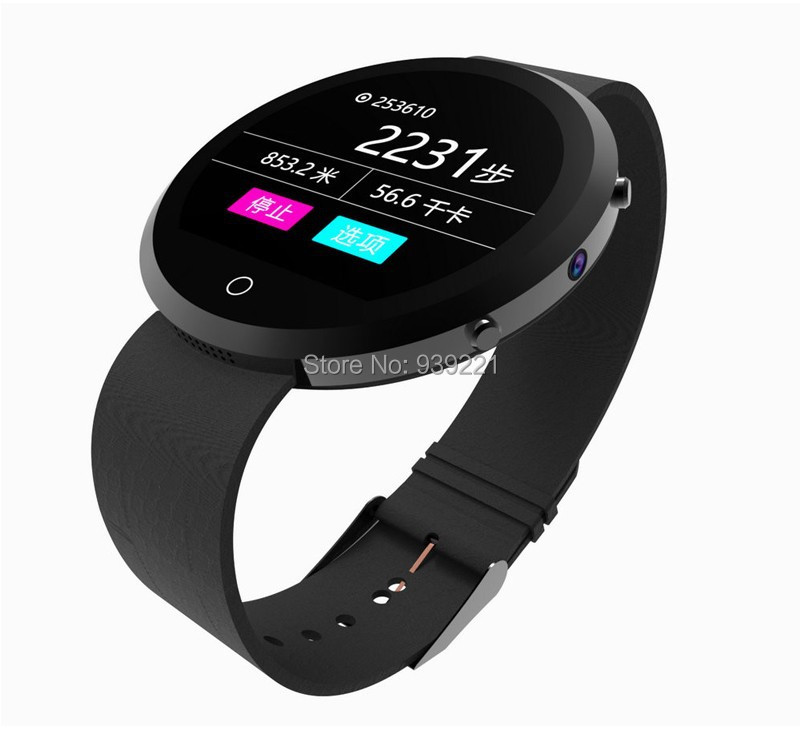 New fashion Round Smart Watch BT360 Health Monitor Bluetooth Smartwatch Support SIM Card For IOS Android Smartphone in stock