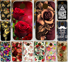 Beautiful Flower Rose Butterfly Ship Spear Anchors PC Print Case Motorola Moto X2 X+1 XT1097 Phone Cover Shell - Shenzhen Blue Sky 3C Products Co.,Ltd. store