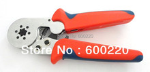 Cable Ferrules Crimp Tool Self-adjusting crimping plier LSC8 6-6A for 0.25-6mm2 wire end sleeves(China (Mainland))
