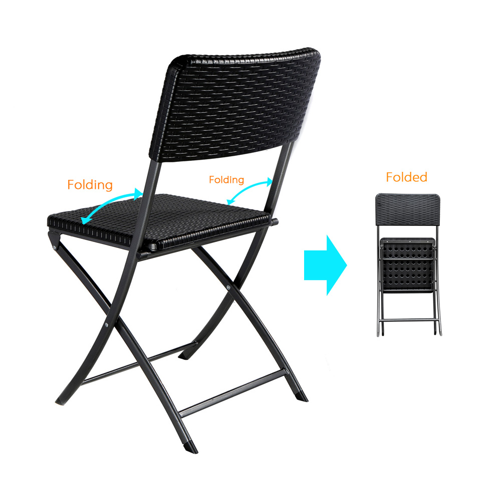 IKAYAA 2PCS Outdoor Patio Folding Chair Indoor Dining Garden Party Beach Camping Stool Patio Furniture Testing Report for EN581(China (Mainland))